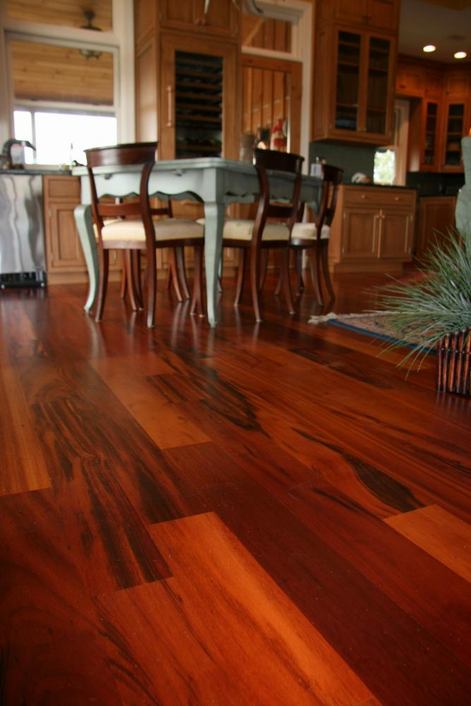Stein wood products decking siding flooring for Tigerwood hardwood flooring